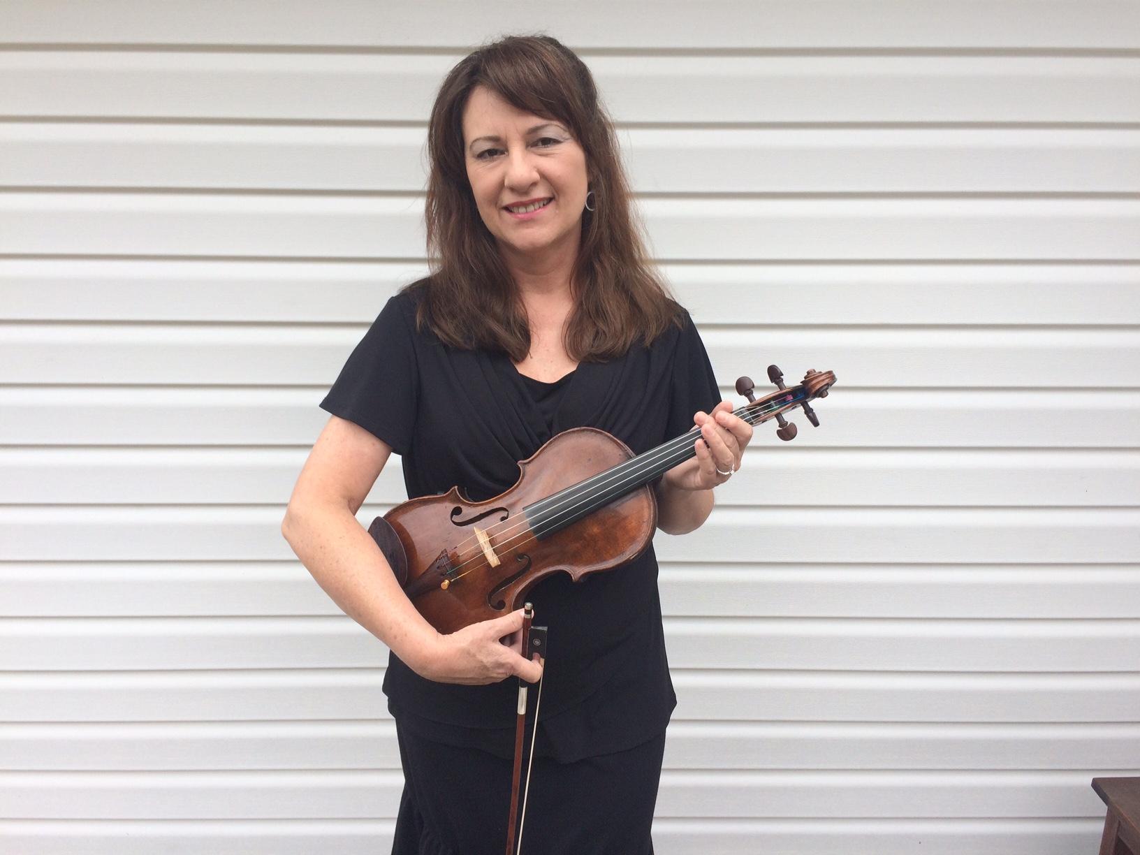 Judy Warner, Concertmaster